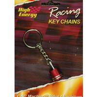HIGH ENERGY RACING KEY RING ALUMINIUM PISTON RED ANODISED KR6650R