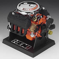 "LIBERTY CLASSICS 1:6 ENGINE CHRYSLER HEMI 426 C.I.D 6""X 6.5""X 5"" LC84023"
