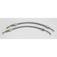 Lokar LK-HL-1900 Stainless Steel Braided Headlight Wiring Harnesses (pair)