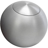 "LOKAR SOLID ROUND 2"" BRUSHED ALUMINIUM SHIFT KNOB SATIN LK-SK-6920"