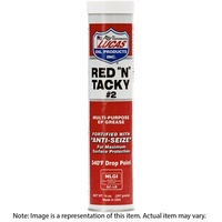 Grease, Red and Tacky, Cartridge/Tube, 397g