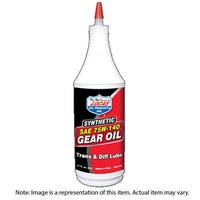Gear Oil, Heavy Duty Plus, Synthetic, 75W90, Limited Slip Additive Included 18.9LT