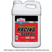 Gear Lube, Racing Gear Oil, Synthetic, 250W, 18.9 LTR