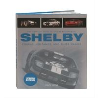 The Complete Book of Shelby Automobile MBK-780760335789 Hardcover - Revised