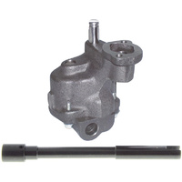 "Cast Shark Tooth Oil Pump (Standard Volume Suit SB Chev, Use 3/4"" Press In Screen) (ME10554ST)"