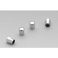 MR GASKET CHROME DOMED HEX VALVE CAPS SET OF 4 MG3663