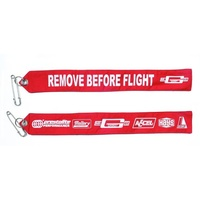 "Mr Gasket MG6001 Parachute Safety Flag ""Remove Before Flight"""