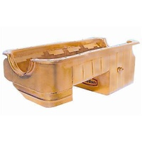 MILODON GOLD IRRIDITE 7 QUART DRAG PAN FORD WINDSOR 302 MUSTANG 79 ON MIL31121