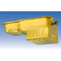 MILODON GOLD IRRIDITE 8 QUART OIL PAN FORD WINDSOR 260 289 302 MIL30925