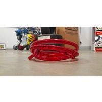 "Mooneyes MNAF4126 Ruby Red 3/8"" Fuel Line"
