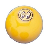 Mooneyes MNMP021YYL Large Yellow Gear Shift Knob with Moon Logo