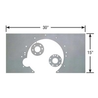 COMPETITION ENGINEERING STEEL MID MOUNT PLATE CHRYS SB WITH 727/A904 MOC4038