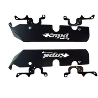 Chevy V8 Spark Plug Guards (Kit includes Right & Left guard, 2 Front & 2 Rear mounting brackets) (MPD-018001)