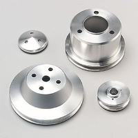 MARCH PERFORMANCE 1-GROOVE V-BELT PULLEY SET MPP7005 SUIT LONG PUMP CHEV BB V8
