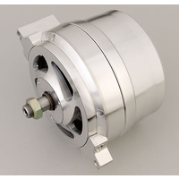 MARCH 140 AMP 12V 1 WIRE ALTERNATOR MPP9650 BILLET ALLOY GM VEHICLES 1955-ON