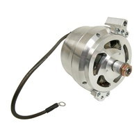 March Performance MPP9655 GM Chev 10si Case Style Billet Alternator