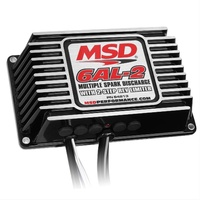 MSD BLACK 6AL-2 IGNITION CONTROL MSD64213 MULTI SPARK DISCHARGE WITH REV LIMITER