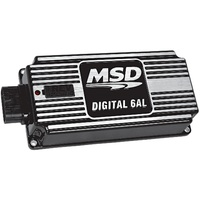 MSD BLACK DIGITAL 6AL IGNITION CONTROL MSD64253 WITH REV LIMITER