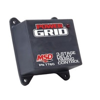 MSD IGNITION POWER GRID DELAY TIMING MODULE MSD7760 ADJUSTABLE 3 STAGE