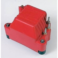 MSD PRO MAG IGNITION COIL MSD8142 U-CORE, SQUARE, RED 45,000 VOLTS