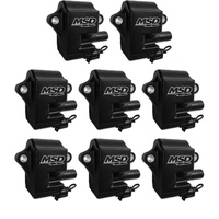 MSD BLACK PRO POWER IGNITION COILS MSD828583 SUIT CHEV/HOLDEN LS1/LS6 8x PACK