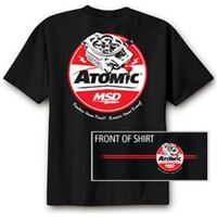 T-Shirt Atomic Black Medium Power Tour