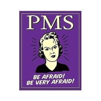 "Metal Sign MSI-1333 PMS Be Afraid 16""x 12.5"""