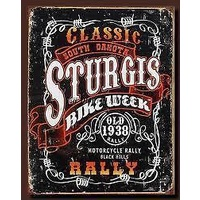 "Metal Sign MSI-1396 Sturgis Classic Rally 16"" x 12.5"""