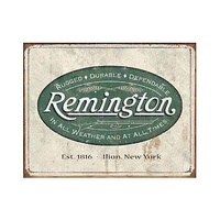"Metal Sign MSI-1413 Remington All Weather 16""x 12.5"""