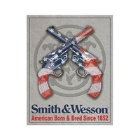 "Metal Sign MSI-1465 Smith And Wesson Revolvers Height 16"" Width 12.5"""
