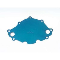 MEZIERE ELECTRIC WATER PUMP BACKING PLATE SUIT EARLY FORD SB 289W BLUE MZWP112B
