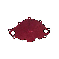 MEZIERE ELECTRIC WATER PUMP BACKING PLATE SUIT EARLY FORD SB 289W RED MZWP112R