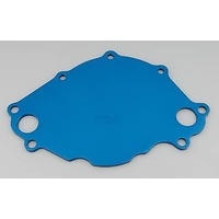 MEZIERE ELECTRIC WATER PUMP BACKING PLATE FOR FORD SB 289-351W BLUE MZWP113B