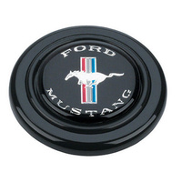 GRANT BLACK HORN BUTTON FOR SIGNATURE SERIES STEERING WHEELS MUSTANG LOGO GR5668