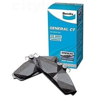 BENDIX GCT REAR BRAKE PADS FOR COMMODORE VZ ALL MODELS 2004 - AUG DB1332