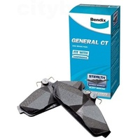 BENDIX GCT FRONT BRAKE PADS FOR FALCON AUII, AUIII EXCEPT TICKFOR DB1375
