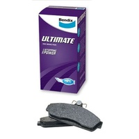 BENDIX ULTIMATE FRONT BRAKE PADS FOR FALCON AUII, AUIII UTILITY  DB1375ULT