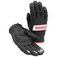 SIMPSON CREW GEAR PRO WRENCHER GLOVES SYNTHETIC LEATHER MEDIUM BLACK SI39032MK