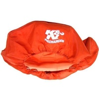 "K&N Filters KN22-1430PR Precharger Air Filter Wrap  14"" X 3"" Filter Round Red"