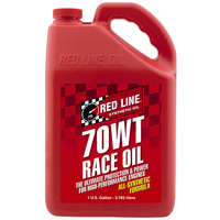 RED LINE 70WT NITRO DRAG RACE ENGINE OIL RED10705, 1 GAL (3.785 Litres)