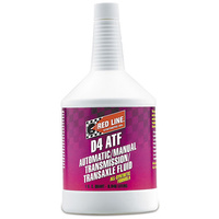 RED LINE D4 AUTOMATIC TRANSMISSION FLUID RED30504, 1 QUART BOTTLE (946ml)