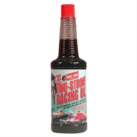 RED LINE TWO STROKE RACING OIL RED40603, 16oz BOTTLE (473ml)
