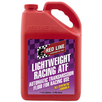 RED LINE LIGHTWIEGHT RACING AUTOMATIC TRANSMISSION FLUID RED30316, 1 GAL (3.785L