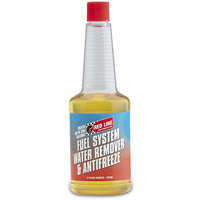 RED LINE FUEL SYSTEM WATER REMOVER & ANTIFREEZE RED60302, 12oz (355ml)