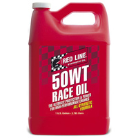 RED LINE 50WT (15W/50) SYNTHETIC RACE ENGINE OIL RED10505, 1 GAL (3.785 Litres)