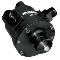 MOROSO 3 VANE MECHANICAL BILLET VACUUM PUMP BLACK ANODIZED MOR 22640