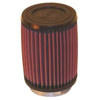 "K&N Filters KNRU-2410 Clamp-On Air Filter Round 4""Od X 5.375""H  2.875"" Neck"