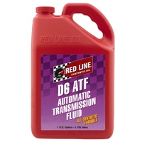 RED LINE D6 AUTOMATIC TRANSMISSION FLUID RED30705, 1 GAL (3.785 Litres)