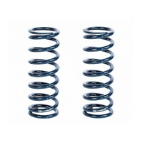 "STRANGE 2.5"" X 12"" LONG COIL OVER SPRINGS 200 LBS/IN RATE BLUE 1 PAIR STSP12200"