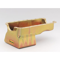 MILODON GOLD IRRIDITE 8 QUART OIL PAN FORD WINDSOR 351 C.I.D MIL30926